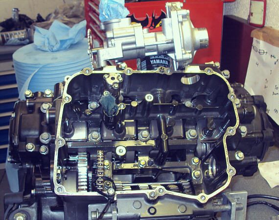 R1 OIL & WATER PUMP REPLACEMENT